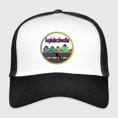 Asphaltschwoibn, the Bavarian curb swallow - Trucker Cap