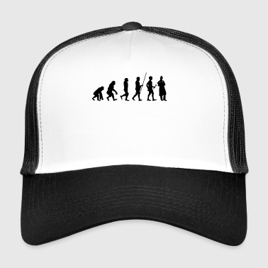 Evolution to the Nurse T-Shirt Gift - Trucker Cap