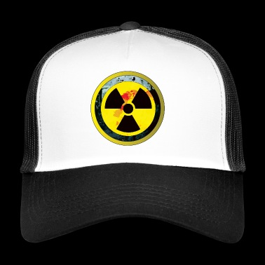 Careful, a radioactive design - Trucker Cap