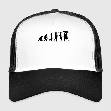 Evolution to Lovers T-Shirt Gift - Trucker Cap