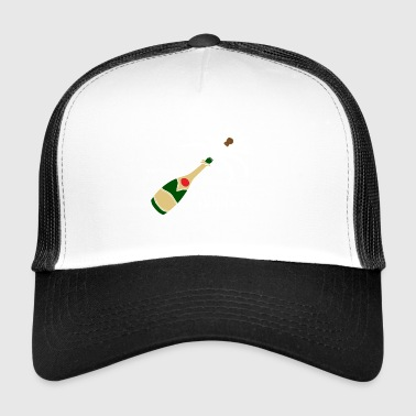Party Poppers champagneflaska - Trucker Cap