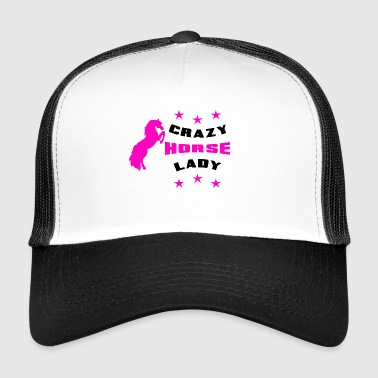 Crazy Horse Lady - Trucker Cap