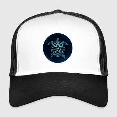 Tortues Logo Bleu, - Trucker Cap
