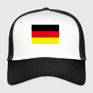 german map - Trucker Cap