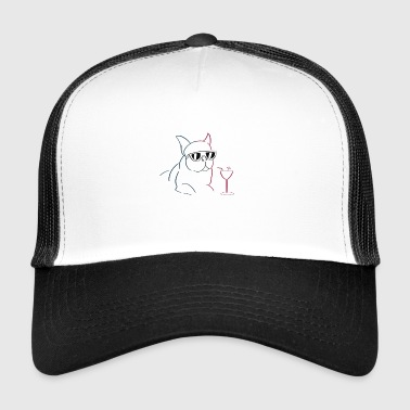 Raffreddare Bulldog T-shirt design - Trucker Cap
