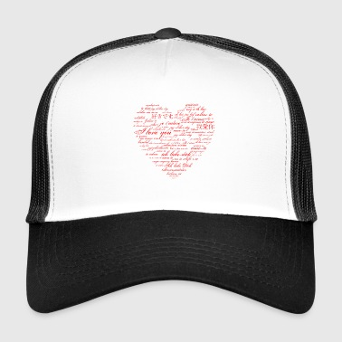 I love you - in many language - Trucker Cap