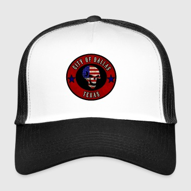 City of Dallas Texas / Idea regalo / regalo - Trucker Cap