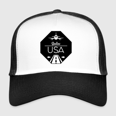 Dallas USA - Trucker Cap