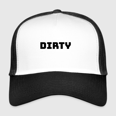 Dirty schwarz - Trucker Cap