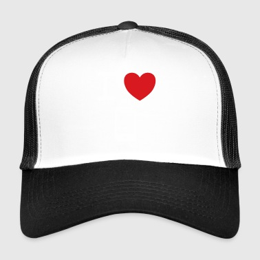 I love my mobile saying gift idea - Trucker Cap