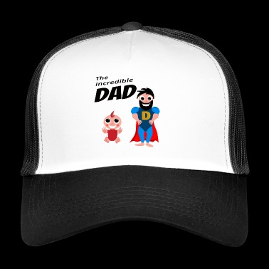 The Incredible Dad Daughter Birthday Gift - Trucker Cap