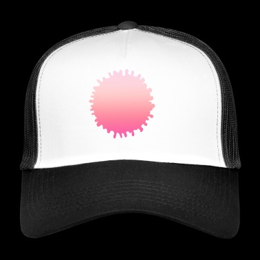 Simple design rose simple - Trucker Cap