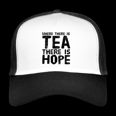 Tea break - gift for tea lovers - tea shirt - Trucker Cap
