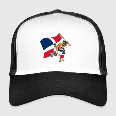 Dominikanische Republik Fan Hund - Trucker Cap