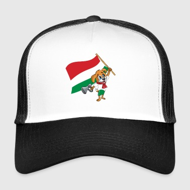 Węgierski pies-fan - Trucker Cap