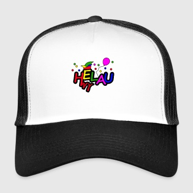 Helau T-Shirt - Fasching - Kinder T-Shirt - Trucker Cap