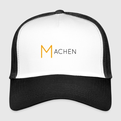 Machen black - Trucker Cap