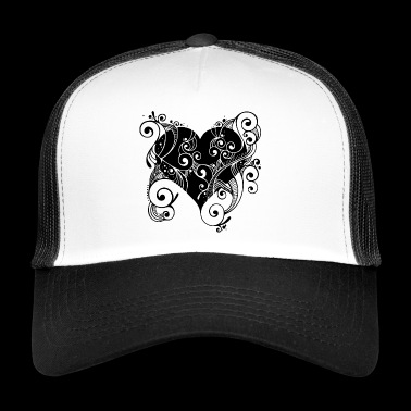 Tatoo Herz - Trucker Cap