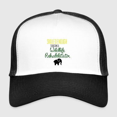 Wildlife rehabilitator - Trucker Cap
