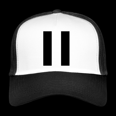 Stripes black - Trucker Cap