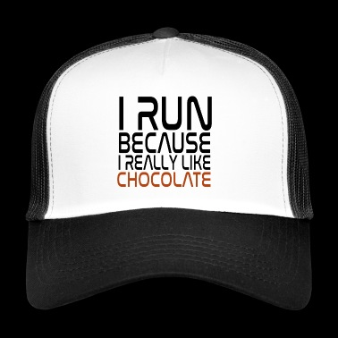 Race for sjokolade snacking - Trucker Cap