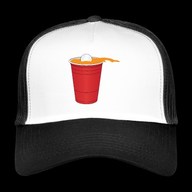 Beer Pong Guerrier - Trucker Cap