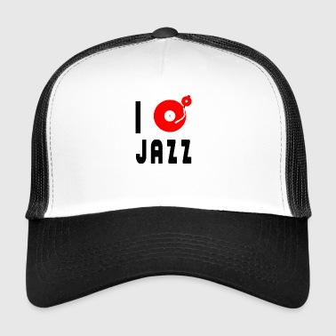 i love jazz - Trucker Cap