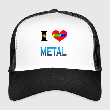 I Love METAL - Trucker Cap