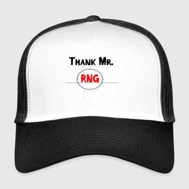 Merci M. RNG FPS Gamer Red - Trucker Cap