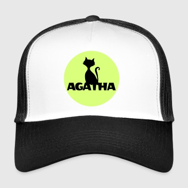 Agatha Name First name Name Motif name day - Trucker Cap