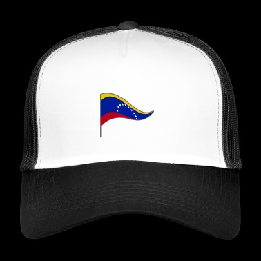 Venezuela. South America. Flag. National Colors. flags - Trucker Cap