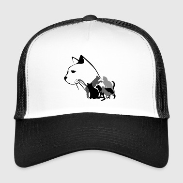 Cat cat lover cat lover cat pet - Trucker Cap