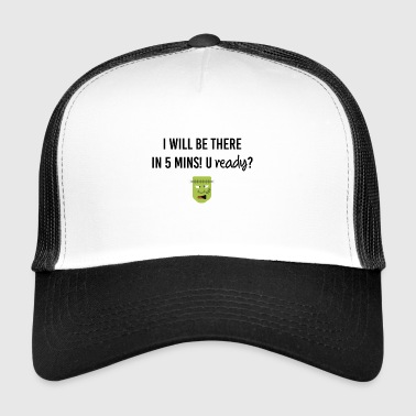 I want to be there ASAP - Trucker Cap