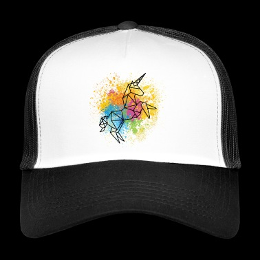 Unicorn grafik - Trucker Cap