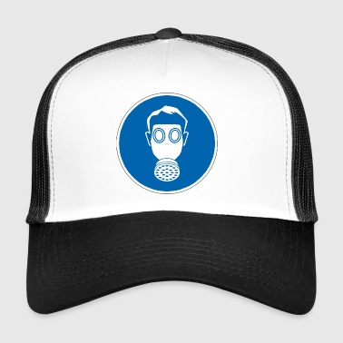 gas mask - Trucker Cap