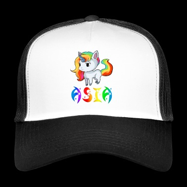 Unicorn Asien - Trucker Cap