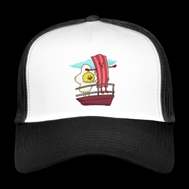 Bacon and eggs Titanic - Trucker Cap