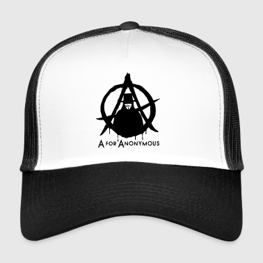 Anonymous - A are Anonymous - We are legion - Trucker Cap