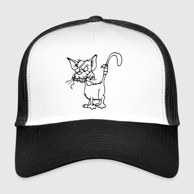 Pirate Cat silmälapun - Trucker Cap
