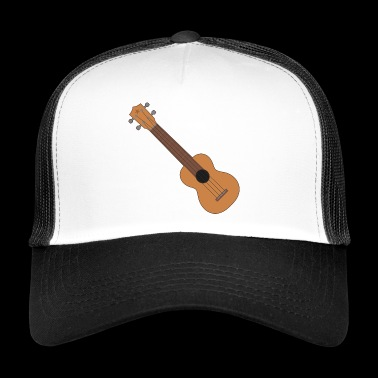 Ukulele music instrument - Trucker Cap