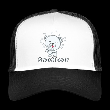 Snack bear / snack bear with heart - Trucker Cap