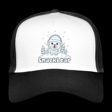 Snack bear / snack bear in the snow - Trucker Cap