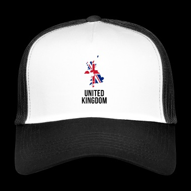 United Kingdom - Borderlines - Trucker Cap