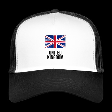 United Kingdom - Union Jack - Trucker Cap