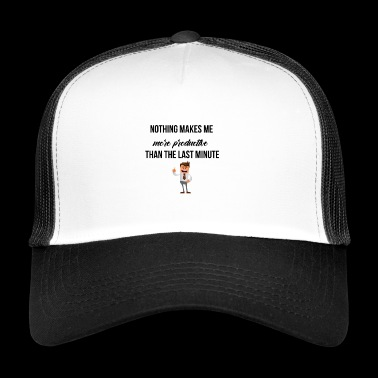 Being productive - Trucker Cap