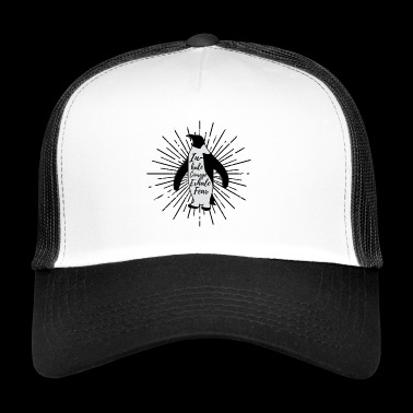inhale courage - Trucker Cap