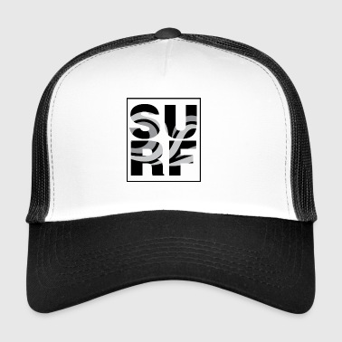 surf / exclusive surfer design unisex - Trucker Cap