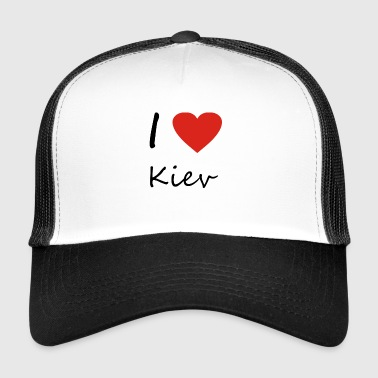 Kiev heart gift idea - Trucker Cap