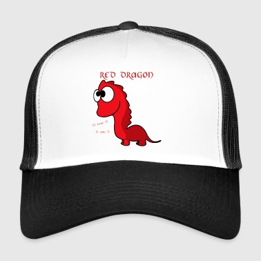 Red Dragon - RAWR - Trucker Cap
