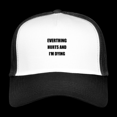 funny saying gift idea - Trucker Cap